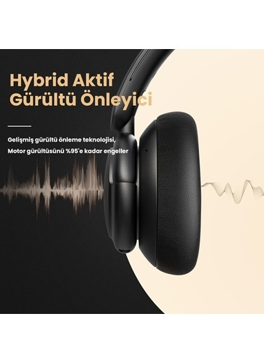 Anker Anker SoundCore Life Q30 Kablosuz ANC - NFC Kulak Üstü tooth Kulaklık Renkli
